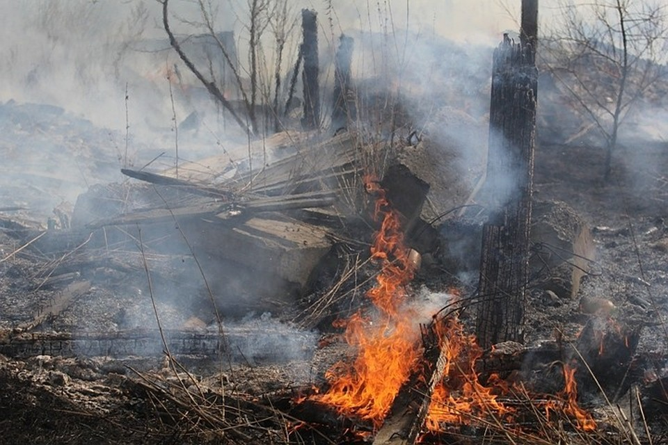 Девять поселков Иркутской области заволокло дымом от лесных пожаров