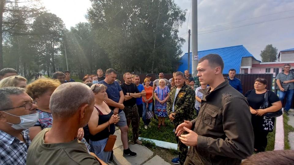 За первые два месяца на посту руководителя края Михаил Дегтярев побывал во всех районах.