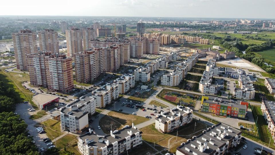 """Микрорайон """"Левобережный"""": проект реализуется в Туле с 2011 года."""