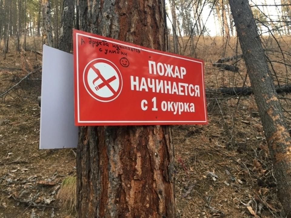 Штормовое предупреждение по высокой пожароопасности
