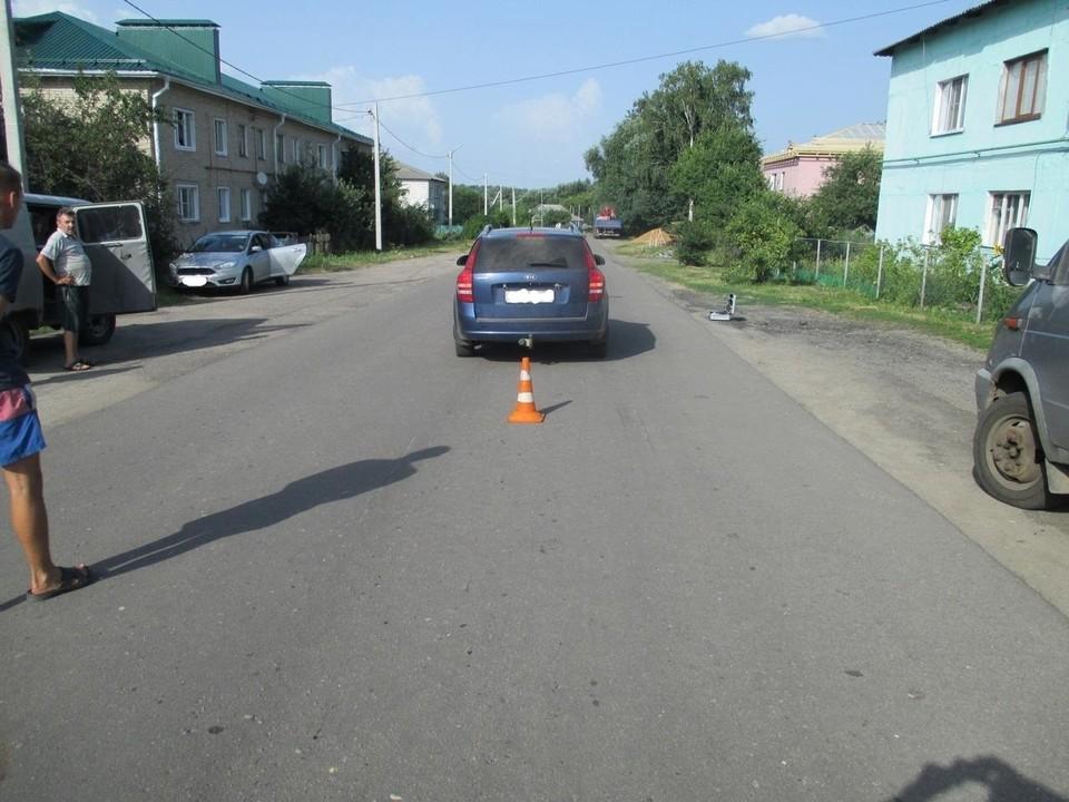 Ребенок перебегал дорогу. Фото: Госавтоинспекция Орловской области.