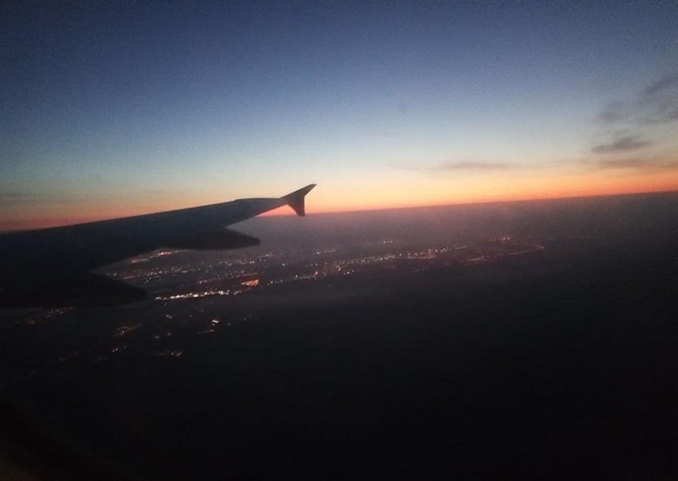 Самолет, который летел из Каира в Пермь благополучно приземлился.