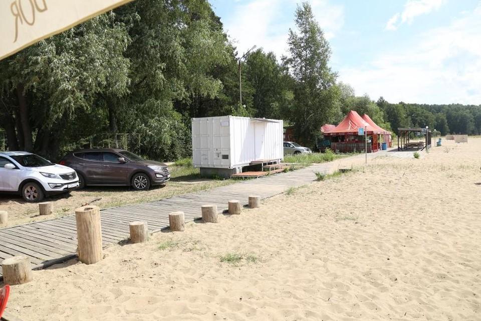 Поводом для собрания послужил вопрос благоустройства центрального пляжа. Фото: Законодательное собрание Новосибирской области