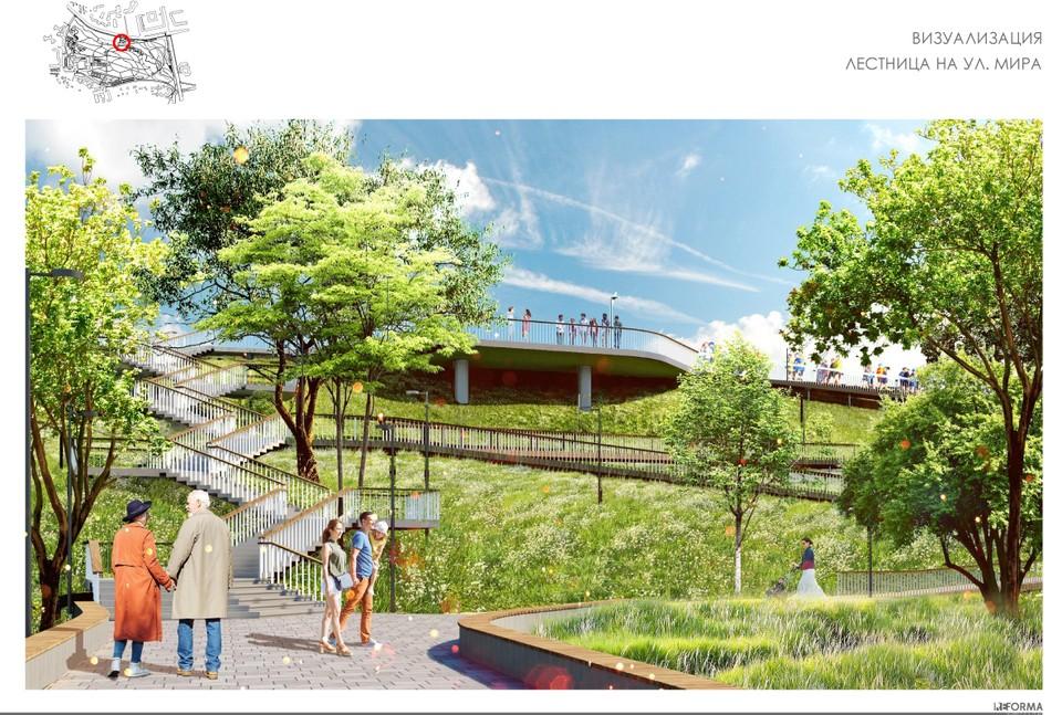 Так может выглядеть новый парк