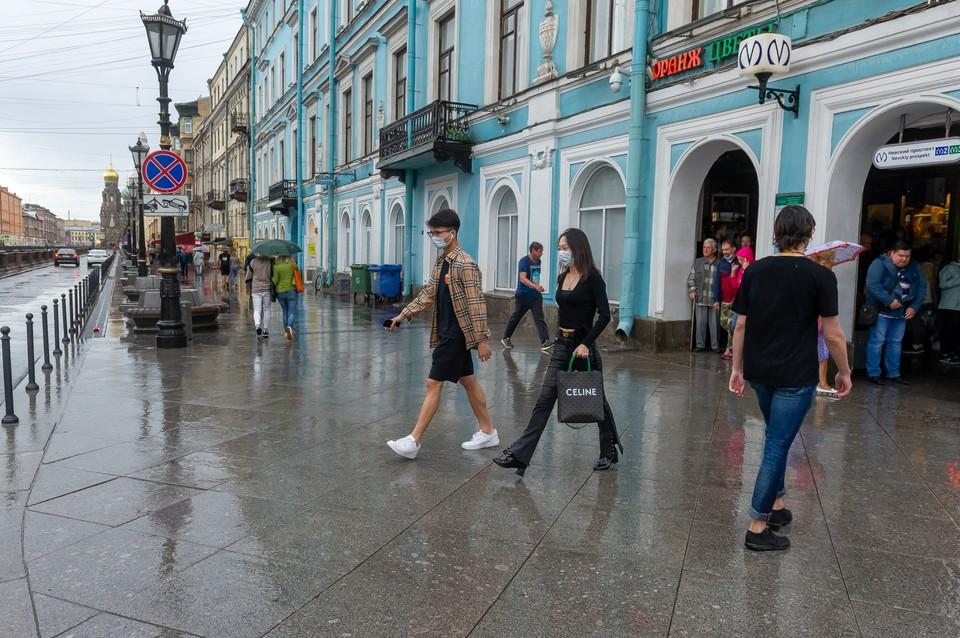 В ночь на 21 июля Петербург накроют гроза и ливень