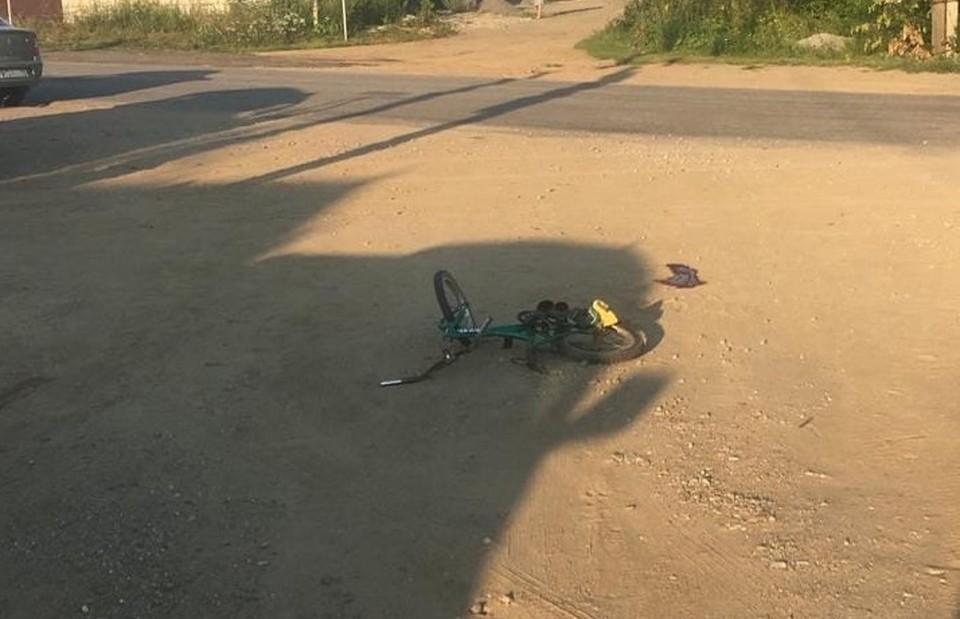 Ребенка сбил тяжелый пикап. Фото: Кыштымский межмуниципальный отдел МВД