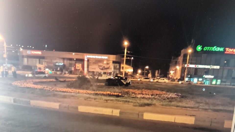 Автомобиль несколько раз перевернулся. Фото:ГУ МВД по Самарской области