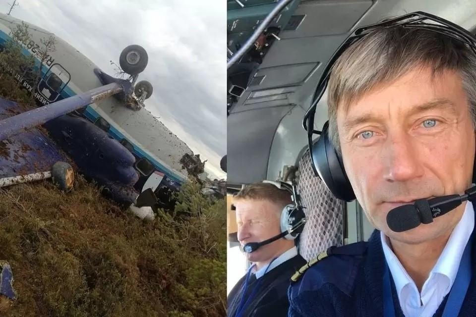 Пилота аварийно севшего под Томском Ан-28 Анатолия Прыткова выписали из больницы. Фото: соцсети