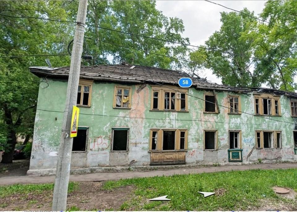 Часть домов уже расселена и ожидает сноса. Фото: Яндекс.Карты
