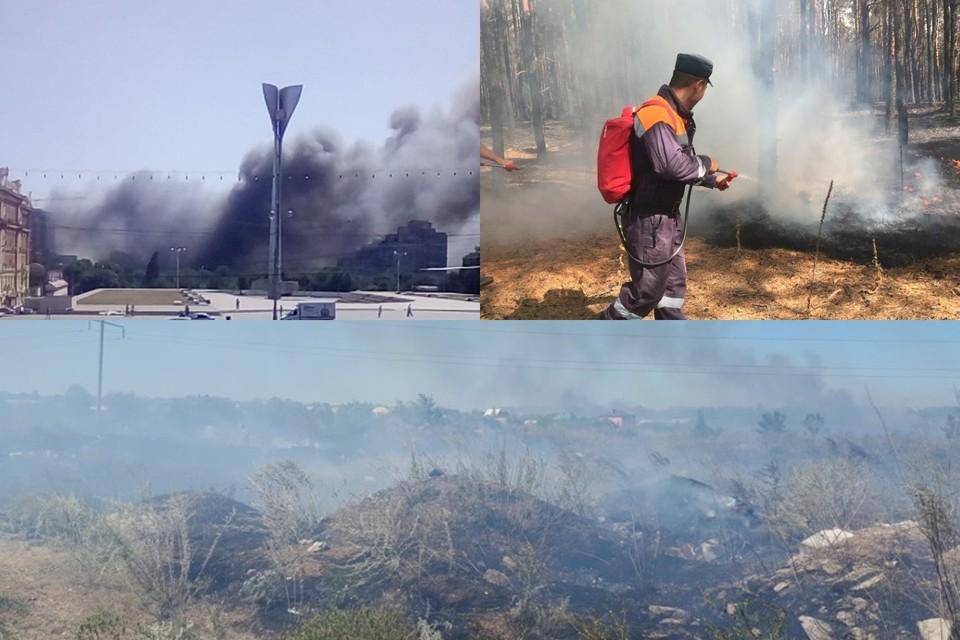 Вспоминаем масштабные пожары региона. Фото: Александр Степанов, ГУ МЧС по РО