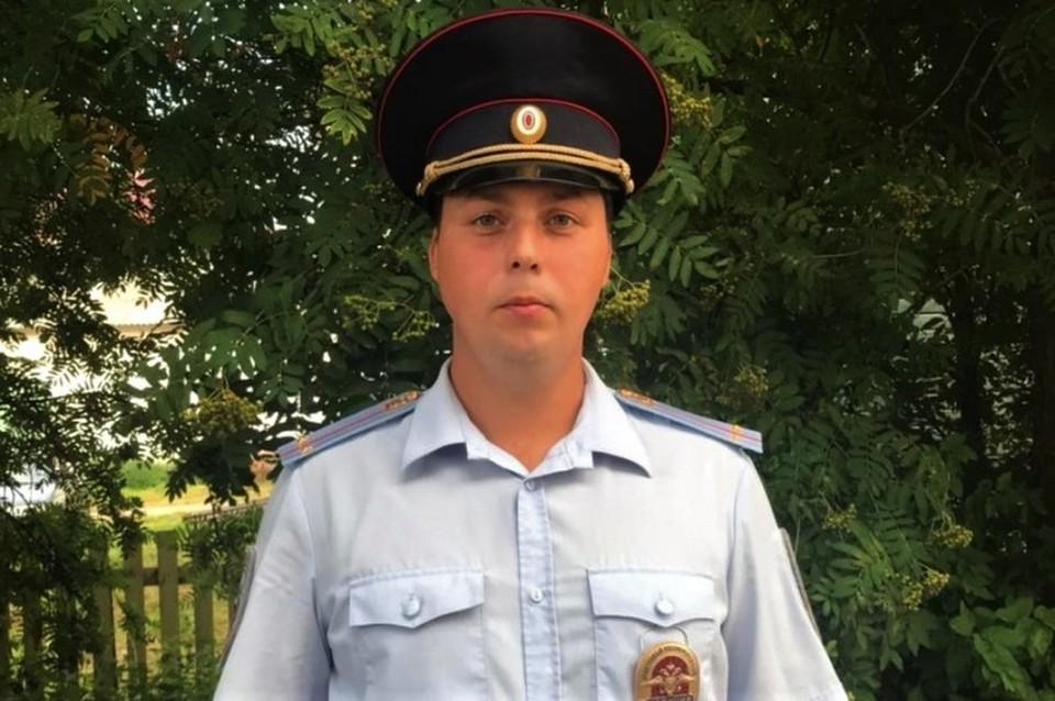 Участковый уполномоченный полиции Алексей Бахарев находясь в отпуске совершил чудо