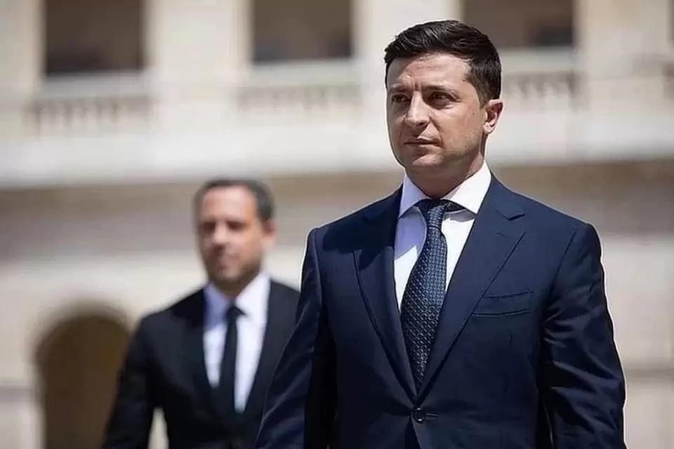 По мнению президента Украины, семь лет назад Россия устроила «фейковый» референдум в Крыму. Фото: официальная страница Владимира Зеленского на Facebook