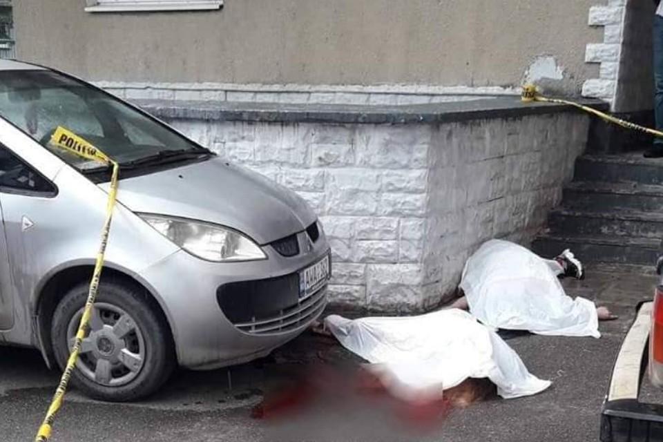 Место трагедии в Бельцах. Фото CП.