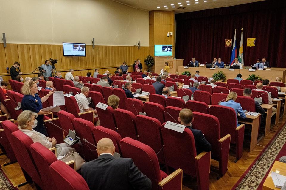 За созыв в Законодательное Собрание поступило свыше 2,5 тыс обращений. Фото: zsko.ru
