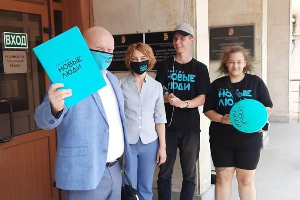 Фото предоставлено пресс-службой партии «Новые люди».