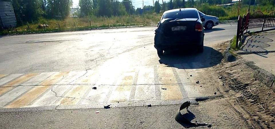 В Югре столкнулись «Шевроле Нива» и «Фольксваген Поло»: пострадали оба водителя Фото: ГИБДД России