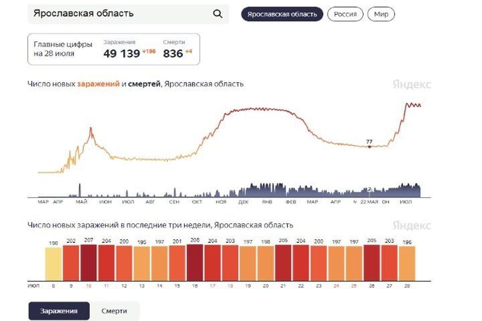 Скриншот Яндекс.Статистика