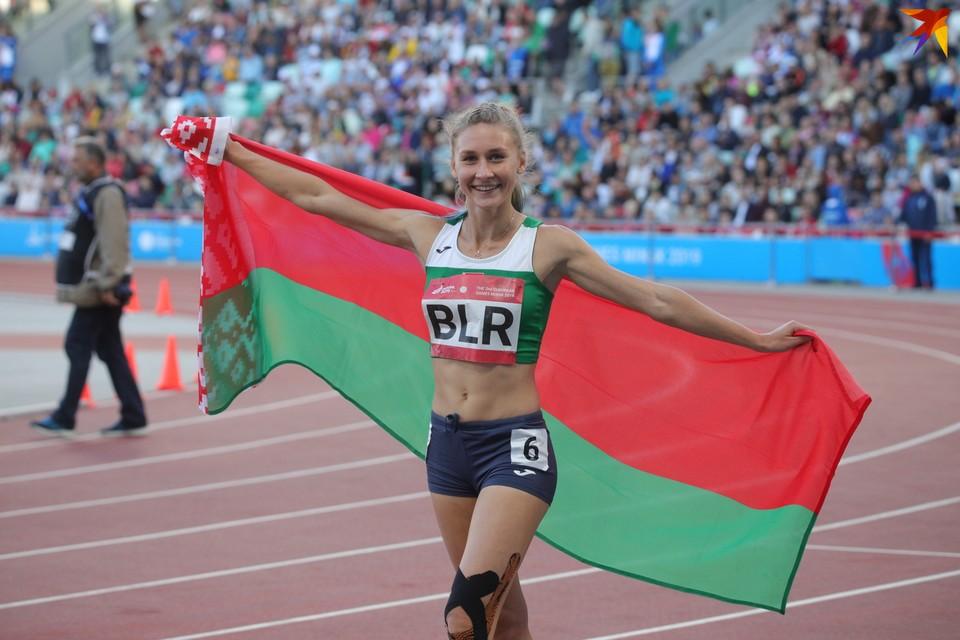 Эльвира Герман выступит в полуфинале в беге с барьерами на 100 м.