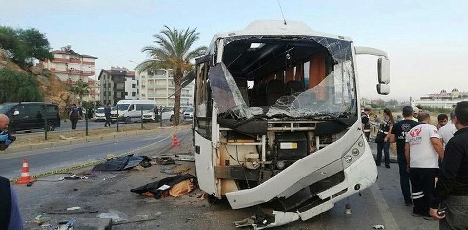 Автобус с туристами попал в ДТП в Турции вечером 2 августа