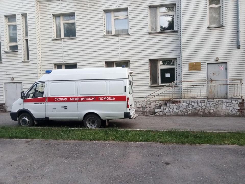 ДТП произошло в микрорайоне Заозерье.