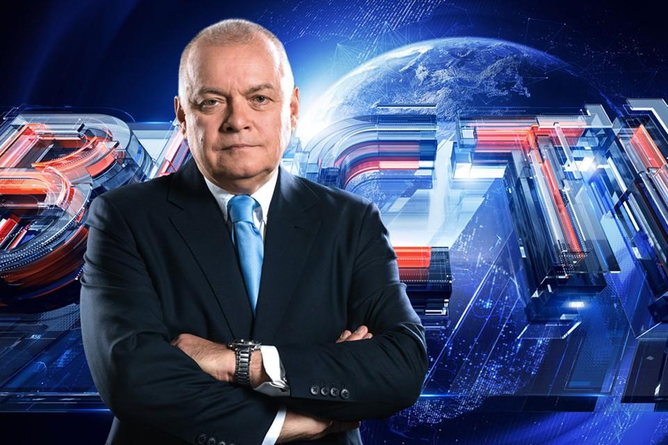 Дмитрий Киселев ответил на вопросы «КП» в перерыве между прямыми эфирами. Фото: пресс-служба ВГТРК