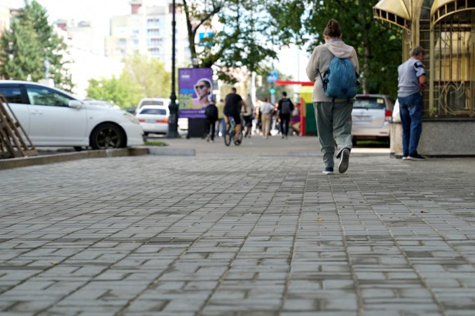 В Хабаровске отремонтируют 12 пешеходных зон