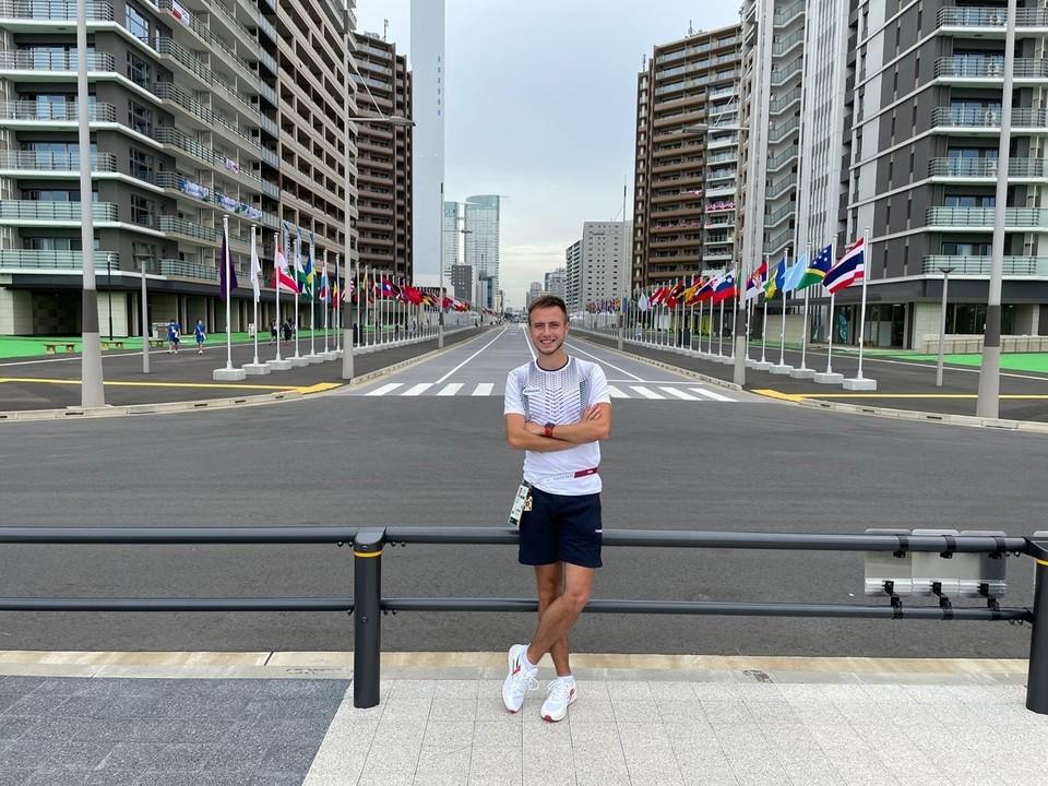 Андрей Вдовин в Токио
