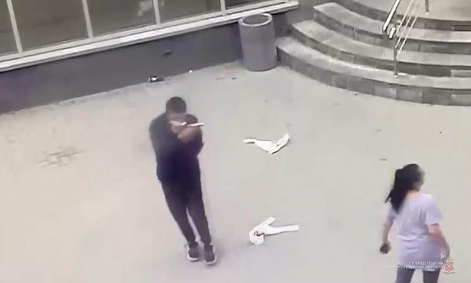 Кадр с видео ГУ МВД России по Волгоградской области