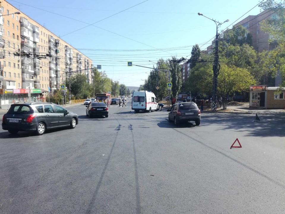 Авария произошло около 10:20 утра 1 сентября. Фото: ГУ МВД по Самарской области