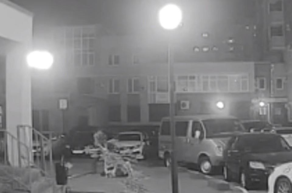 Нападение зафиксировали камеры наблюдения