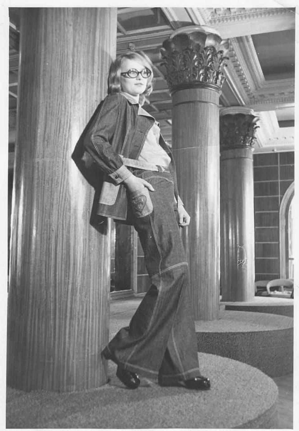 Ольга Смелова попала в манекенщицы в семнадцать лет (Фото: личный архив Ольги Смеловой).