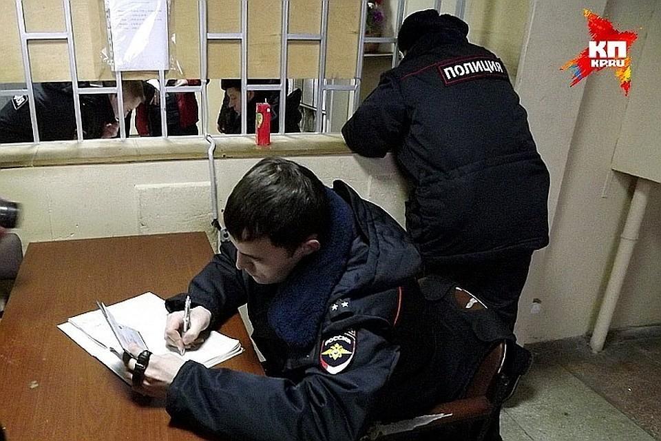 Подозреваемых задержала полиция