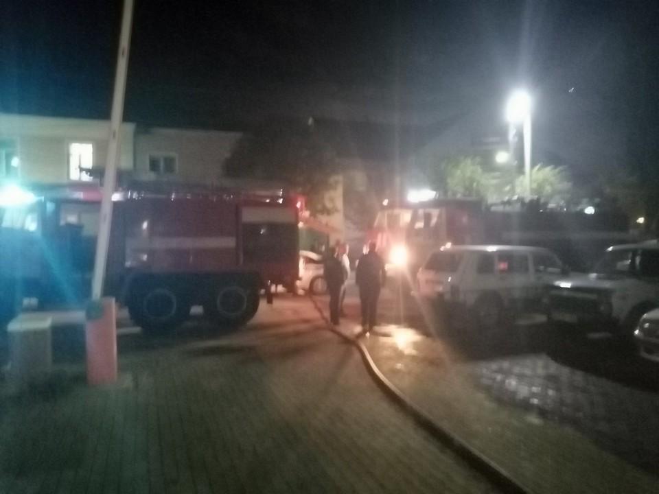 Вызов о пожаре в Рыбновской районной больнице поступил вечером 2 сентября.