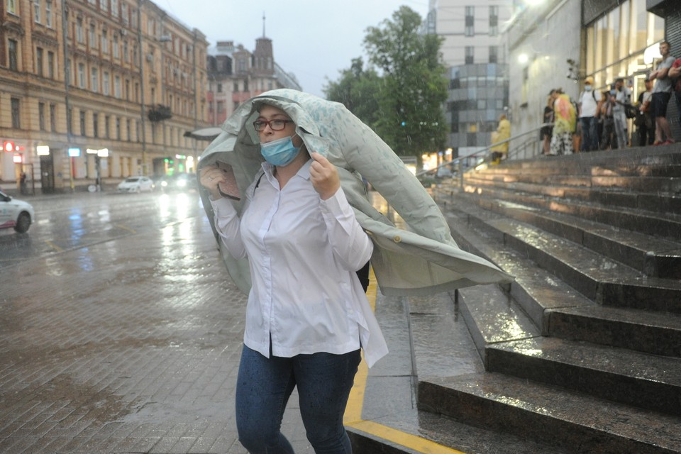 3 сентября в Петербурге окажется дождливым.