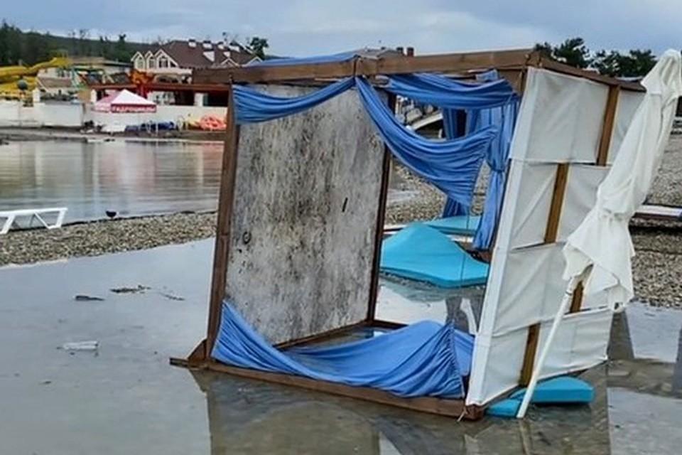 Последствия урагана в Дивноморском, фото@gelen_insta