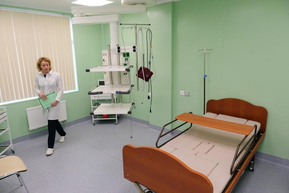 30% инфекционных коек в Петербурге свободны.