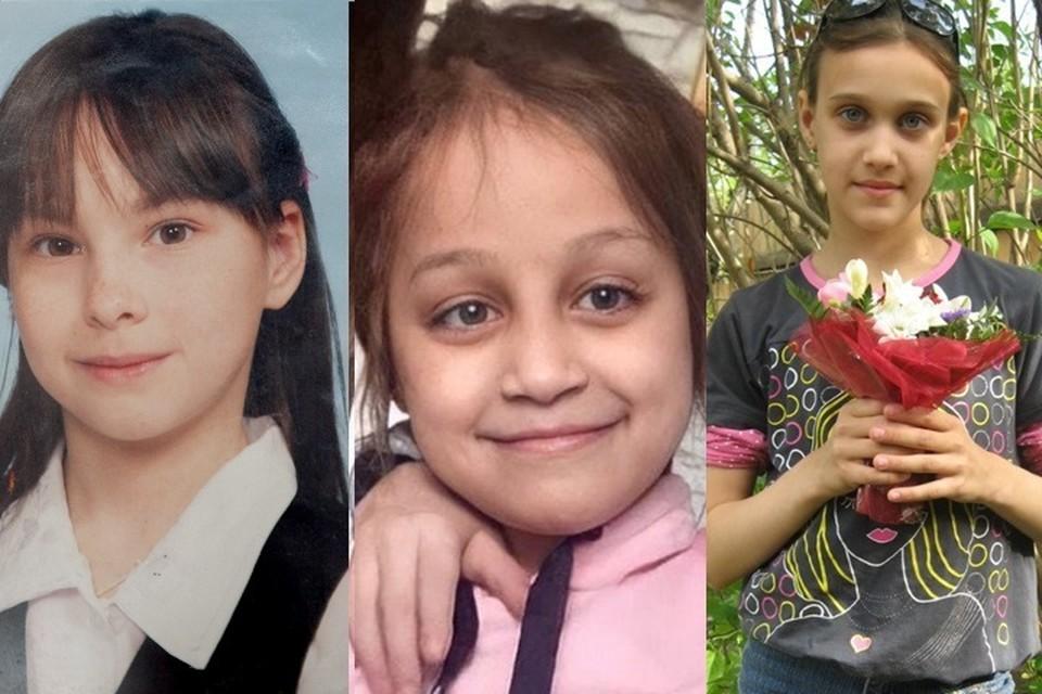 Без вести пропавшие дети в Тюменской области. Фото: коллаж