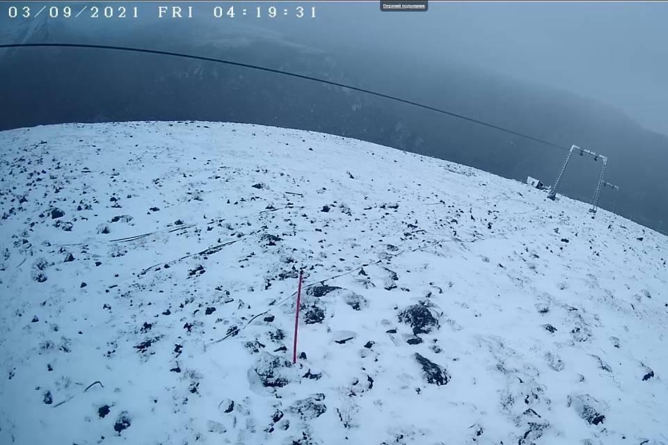 Горы в Хибинах уже побелели. Фото: vk.com/pogoda51