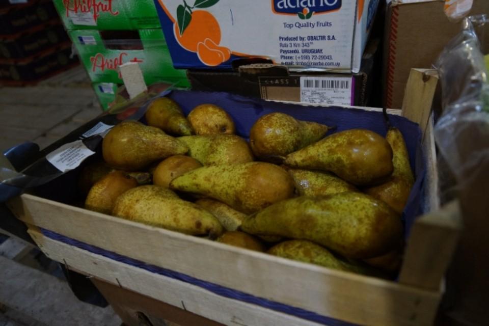 На коробках, в которых находились фрукты, полностью отсутствовали какие-либо отличительные маркировочные знаки и товарные этикетки.