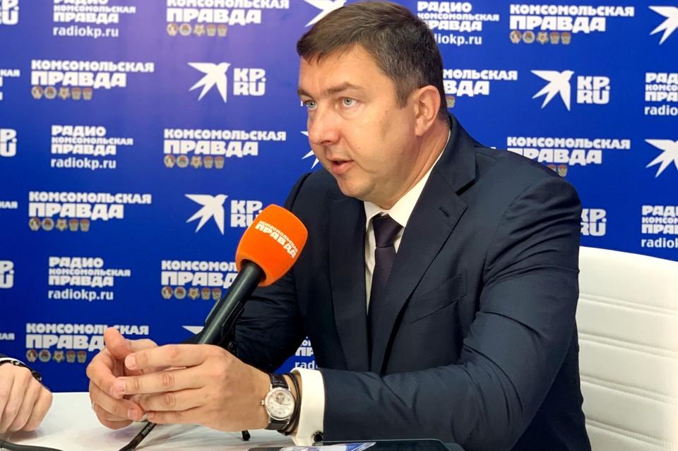 Председатель совета директоров ООО «Управляющая компания «Славда»» Павел Серебряков
