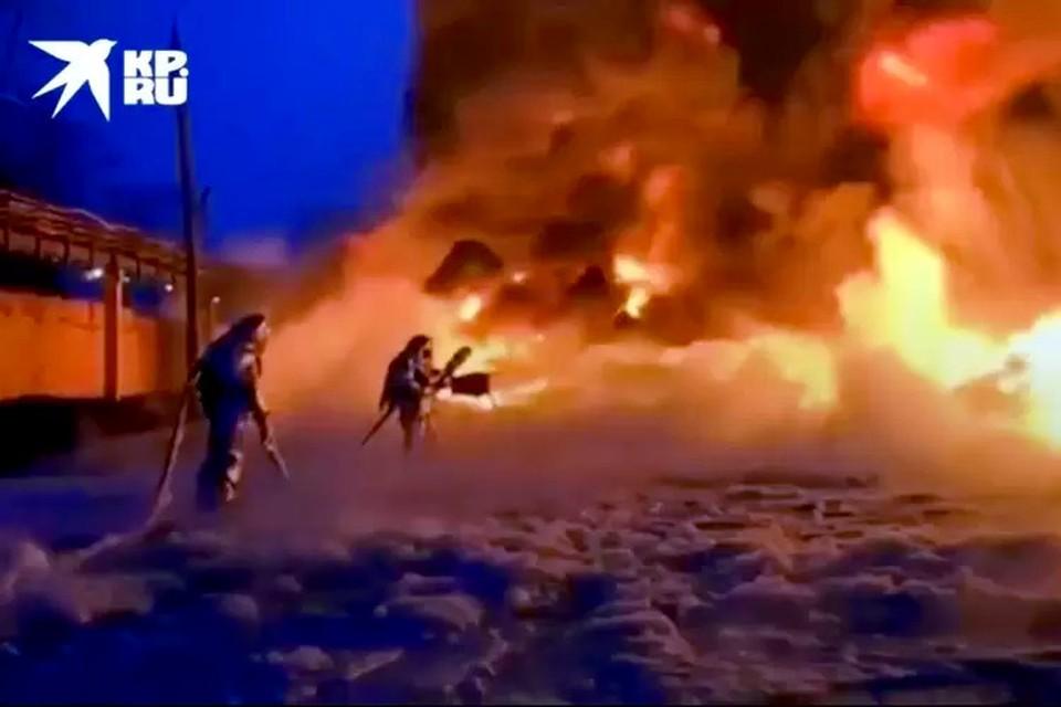 В Тверской области горело пять раз. Фото: ГУ МЧС по Тверской области.