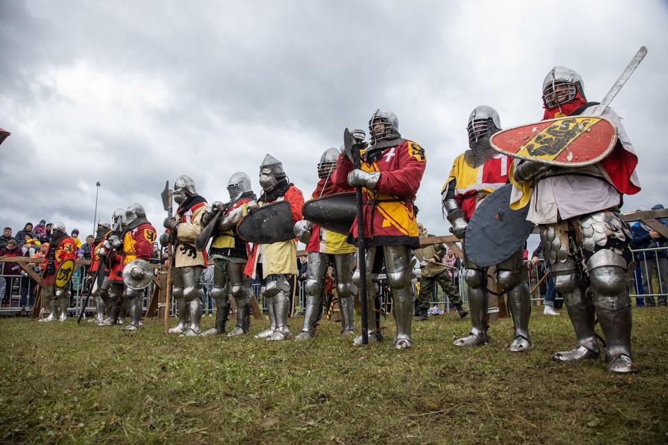 В этом году для посетителей музея воссоздали эпоху Средневековья.
