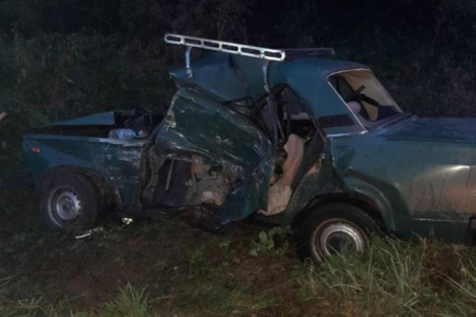 Водитель ВАЗ погиб на месте ДТП. Фото: 62.мвд.рф