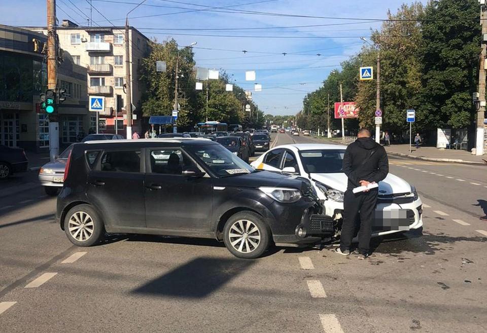 В ДТП пострадал мужчина Фото: УГИБДД России по Тверской области