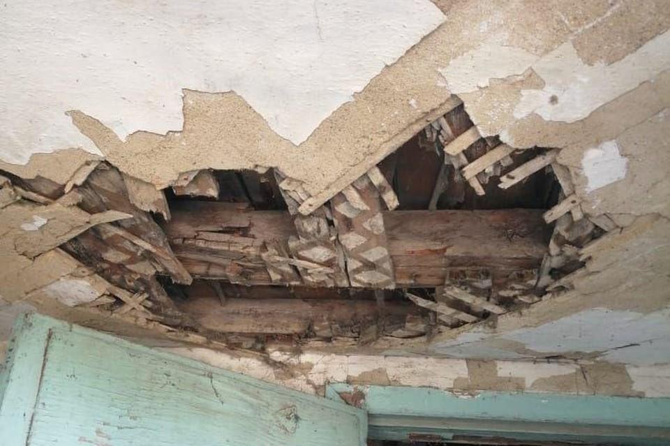 Текущее состояние аварийного дома