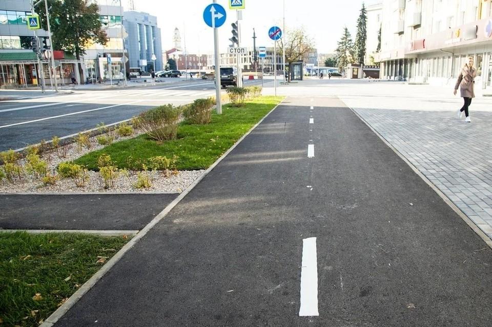 В Липецке после ермонта открыли улицу Зегеля