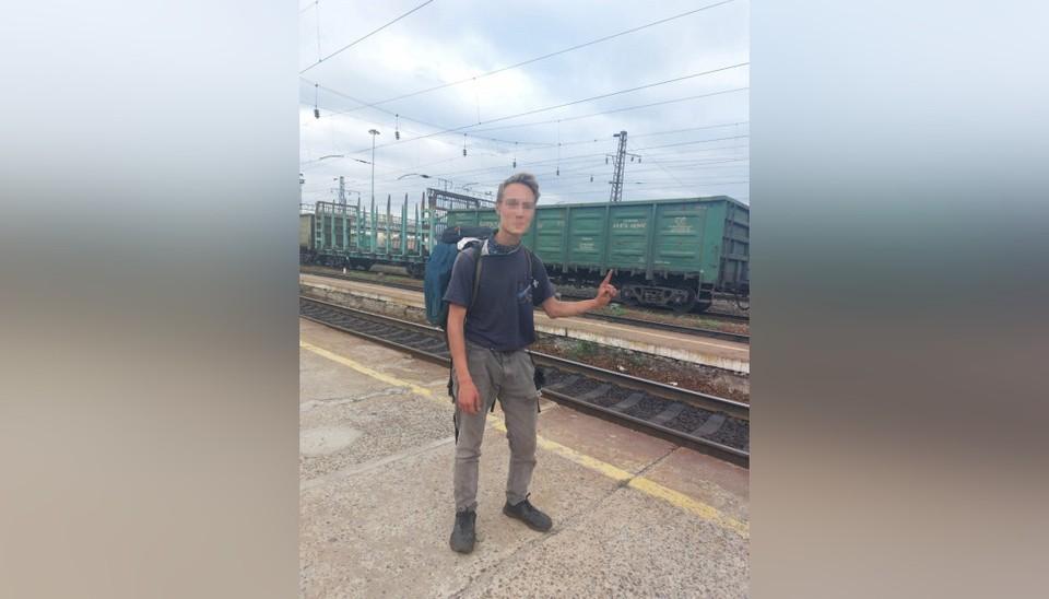 """21-летний блогер из Ижевска путешествовал не один. Фото: Российские железные дороги """"РЖД""""    vk.com"""