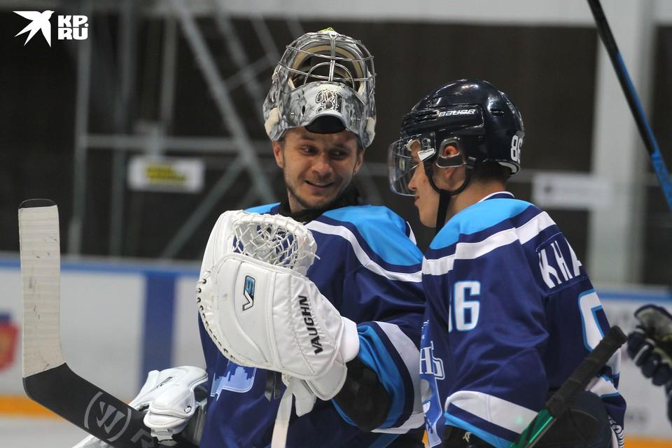 Сергей Денисов пребывал в прекрасном настроении.
