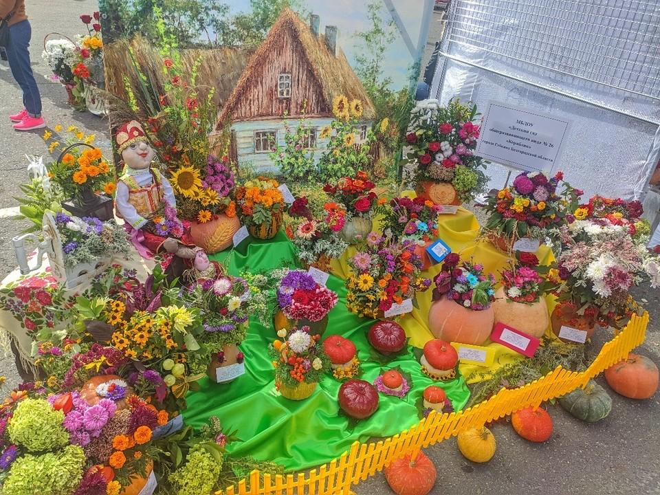 Традиционно в рамках мероприятия провели конкурс на лучшую выставочную экспозицию. Фото пресс-службы администрации Губкинского городского округа.