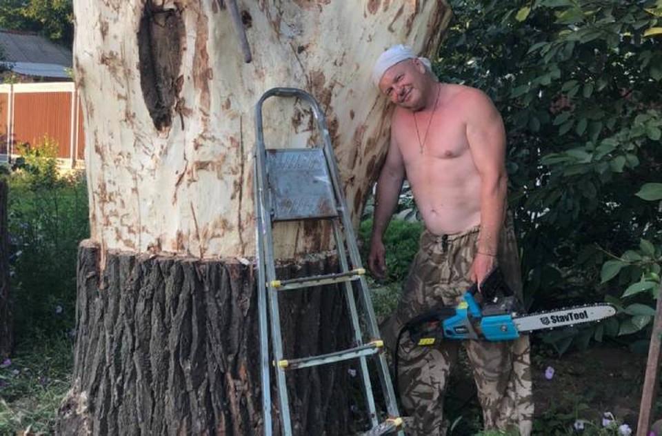 Сергей Андреев во время пандемии открыл в себе талант резчика по дереву. Фото: представлено героем публикации